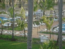 View from Room 3232 toward the Pools