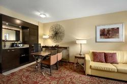 Suite Dining Table and Wet Bar