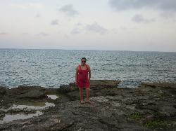 STANDING ON THE ROCKS