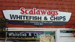 Scalawag's Whitefish & Chips