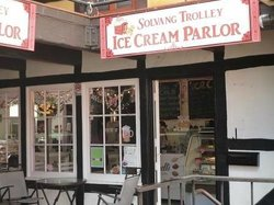 Solvang Trolley Ice Cream Parlor