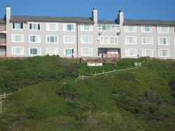 Oceanfront View Showing Beach (stairs) Access