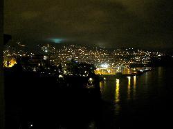 funchal view at night