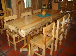 Nuestras mesas de madera de Pino