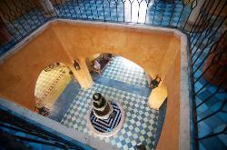 Interior of the Villa
