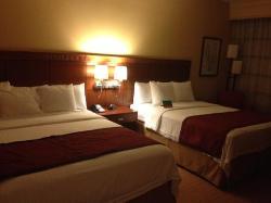 Comfy beds.