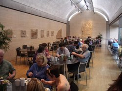 Buffet at the Kimbell