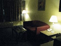 la suite comporte un canapé