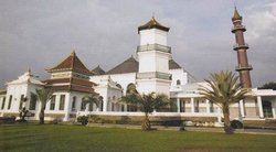‪Great Mosque of Palembang‬