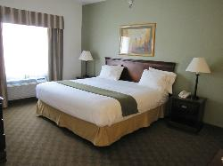 King suite was spacious and SO comfortable!!!!
