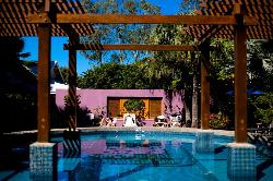 Pool Garden Area