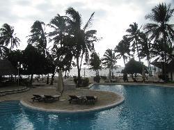 pool & beach at DOA