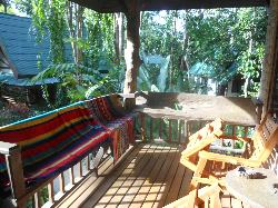 Our veranda, Bungalow no.3