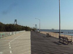 Franklin D. Roosevelt Boardwalk and Beach