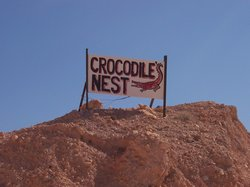 Crocodile Harry's Underground Nest