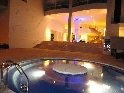 Lobby View from the Jacuzzi