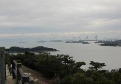 岡山側から四国へ続く橋