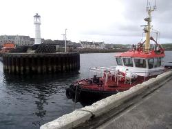 Ayre Hotel from Kirkwall harbour