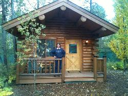 Exterior View of Cabin #7