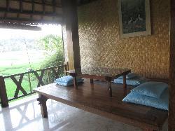 large balcony~