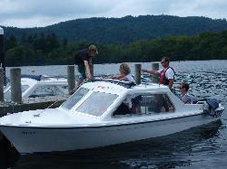 Bowness Bay Marina - Electric boat hire
