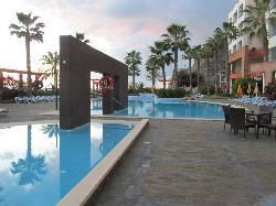 Sundown at Calheta Beach Hotel
