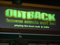 The Outback Aussie & Surf Bar