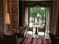 Another pleasant spot by the window in the Horizon Club, where shall we sit today? :)