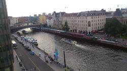 Sorprendentes vistas del río en el centro de la ciudad