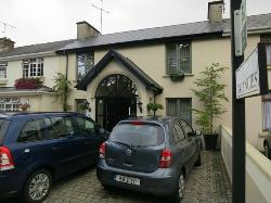 Front of Larkinley Lodge along Lower Lewis Road, Killarney