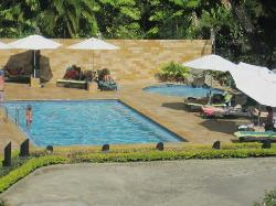 Pool (view from balcony)