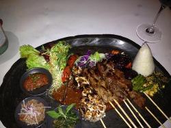 Beef sate
