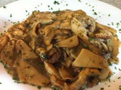 Bistecca Giamburrasca ai funghi porcini (27€)
