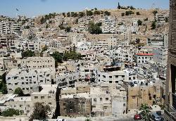 View of downtown Amman from Wild Jordan
