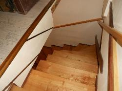 Careful on the stairs! Steep and tricky to maneuver.