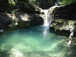 Damajagua Waterfalls by Runners Adventures