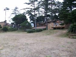 Picture of some of the property taken from the lighthouse on the property.
