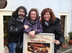 All'uscita dalla Fraschetta molto entusiasti.