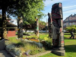 Duncan Totem Poles