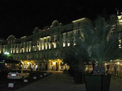 other side of hotel