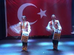 Turkish Dancers in amphitheatre