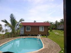 Our cottage next to pool