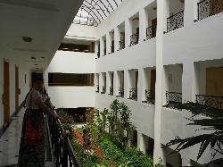 The central atrium