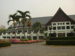 Ansicht Hotel vom Garten