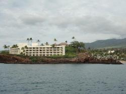 Picture taken of the Sheraton from our sunset cruise.