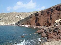 spiaggia rossa
