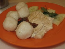 EeJiBan Chicken Rice Ball Halal