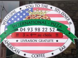 International Pizza & Burgers