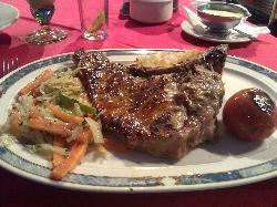 Amazing t-bone steak