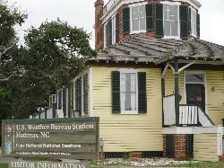 Weather Bureau on Hatteras Island